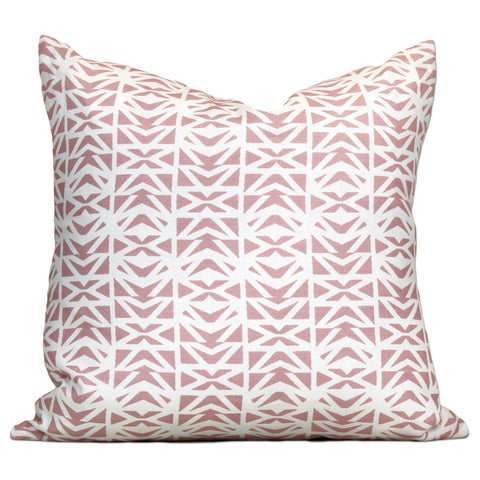 Savannah Hayes Lisbon Throw Pillow - Modern, Geometric Home Decor for the Living Room and Bedroom