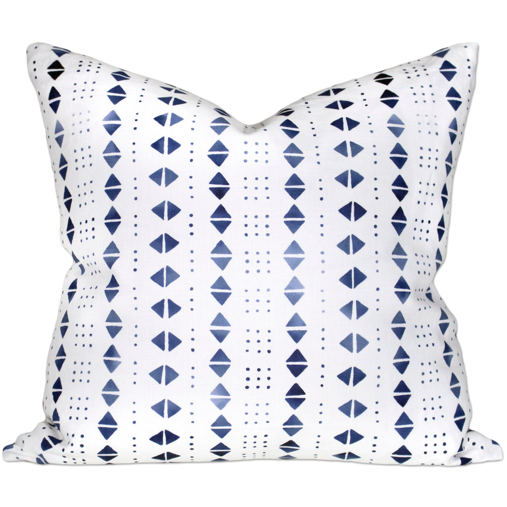 Mali II Pillow - Indigo
