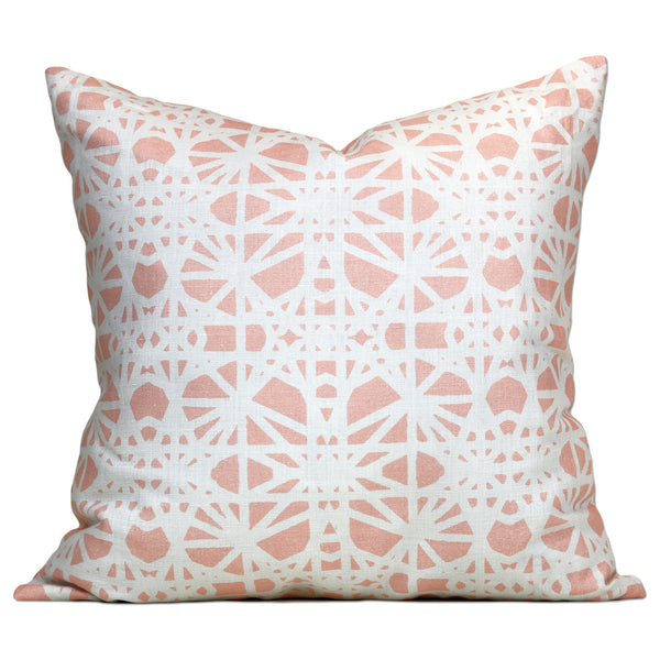 Savannah Hayes Taza Throw Pillow - Modern, Geometric Home Decor for the Living Room and Bedroom