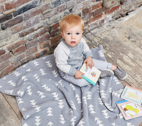 Savannah Hayes Rivington Baby Blanket - The Perfect Baby Shower Present for the Modern Nursery