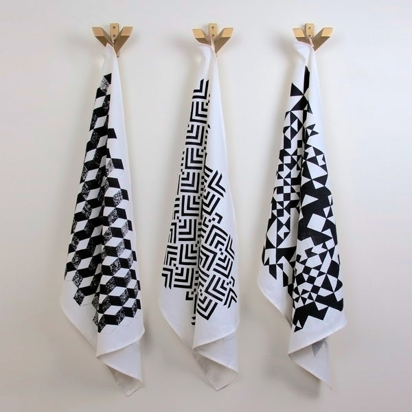 Savannah Hayes Taormina Tea Towel - Modern, Geometric Textiles for the Home