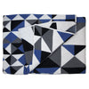 Savannah Hayes Otranto Throw Blanket - Modern, Geometric Home Decor for the Living Room and the Bedroom