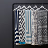 Savannah Hayes Zadar Throw Blanket - Modern, Geometric Home Decor for the Living Room and the Bedroom