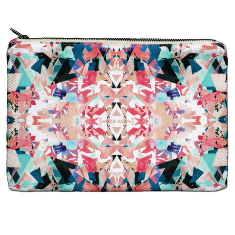 Savannah Hayes Vienna Zip Pouch - Makeup Bag & Travel Organizer