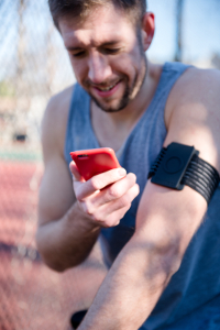 Still holding that smartphone in your sweaty hand while you run?