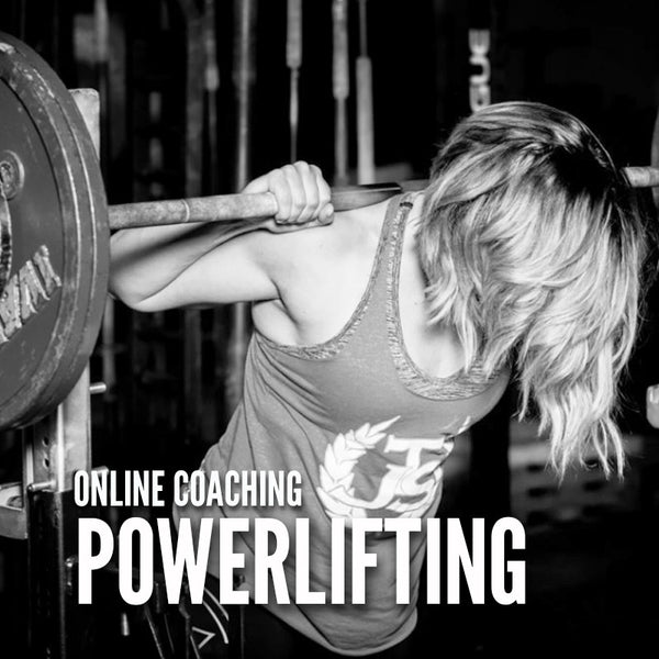 POWERLIFTING ONLINE COACHING