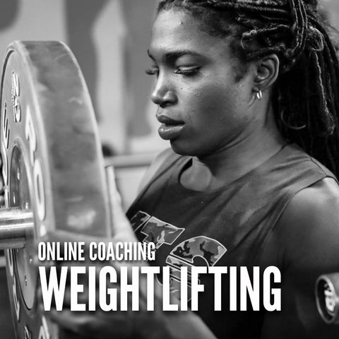 WEIGHTLIFTING ONLINE COACHING