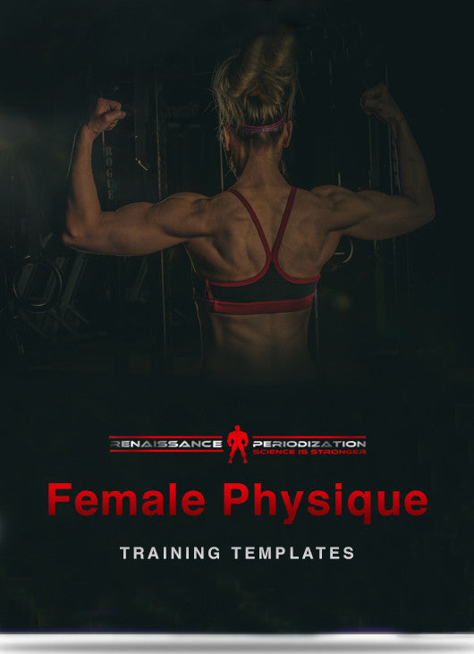 Female Physique Training Template