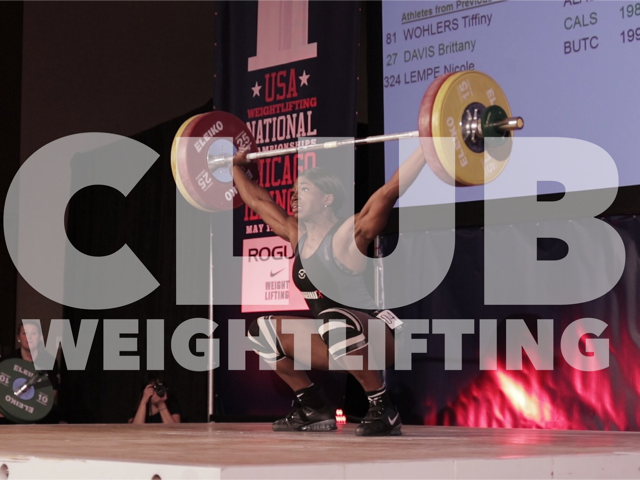 CLUB WEIGHTLIFTING