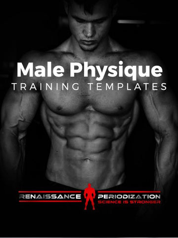 Men's Physique Template