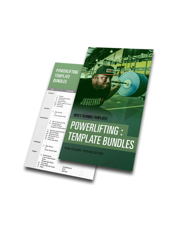 Powerlifting Template Bundle