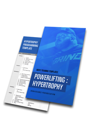 Powerlifting Hypertrophy Template