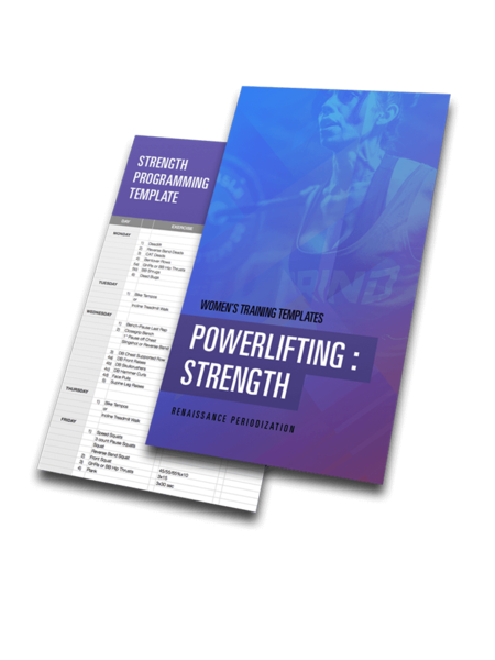 Powerlifting Strength Template