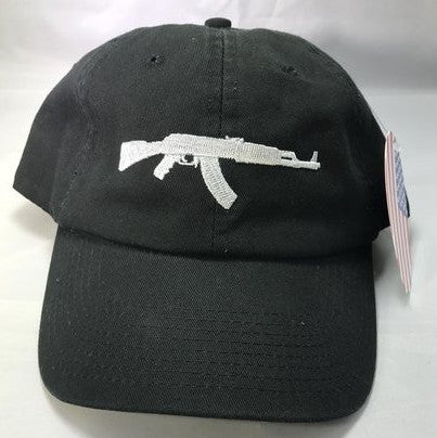 AK47 Black Adjustable Dad Hat