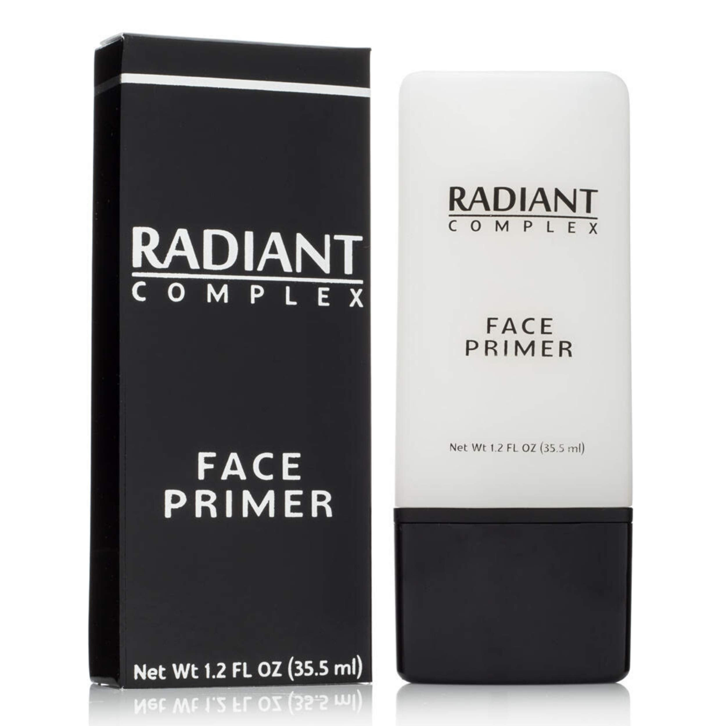 Best Makeup Base: Radiant Complex Face Primer and Pore Minimizer Transforms Your Skin into a Smooth Matte Canvas for Applying Foundation and Make Up, Hiding Fine Lines, Blemishes and Wrinkles 1.2 OZ