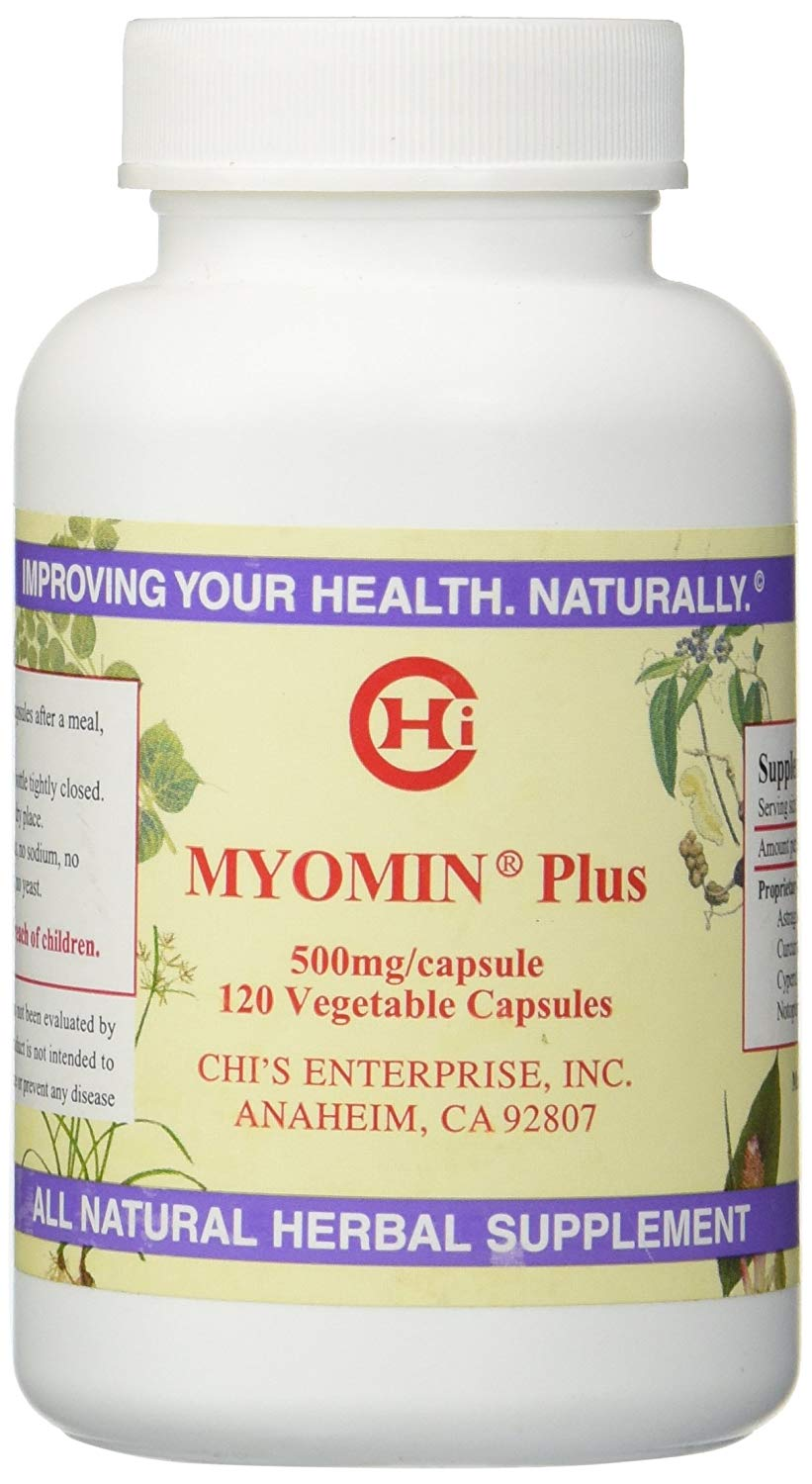 Chi's Enterprise Myomin Plus Capsules, 500mg, 120 Capsules