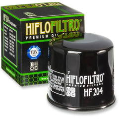 HIFLOFILTRO HF204 OIL FILTER BLACK HONDA