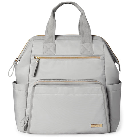 Main Frame Wide Open Backpack- Cement