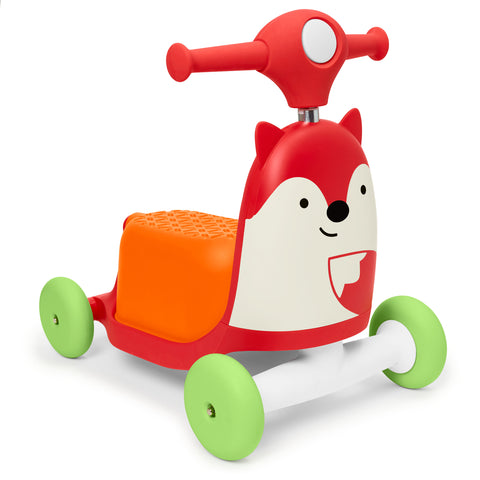 Zoo 3-in-1 Ride On Toy Fox