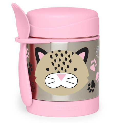 Zoo Insulated Food Jar Leopard