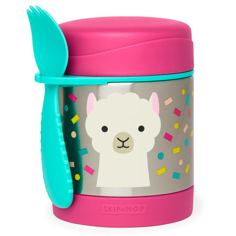Zoo Insulated Food Jar Llama