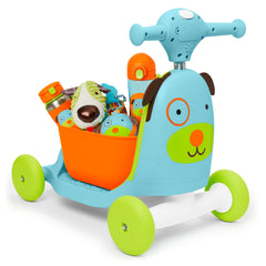 Zoo 3-in-1 Ride On Toy Dog