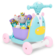 Zoo 3-in-1 Ride On Toy Unicorn