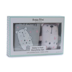Beary Sweet My First Story & Rattle