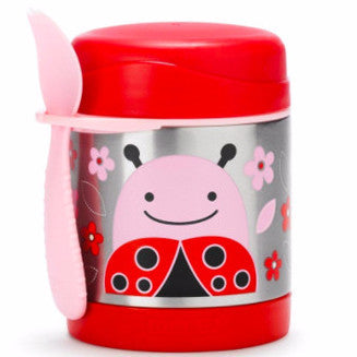 Zoo Insulated Food Jar Ladybug