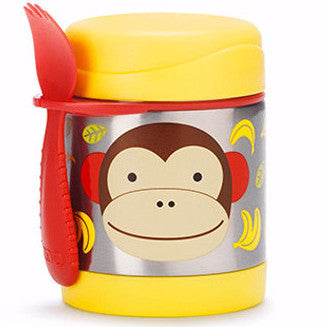 Zoo Insulated Food Jar Monkey