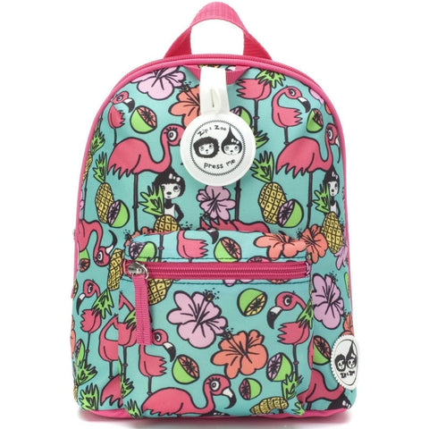 Flamingo Mini Backpack with Reins