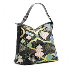 Littlephant Changing Bag Saga Forest Black & Multi