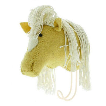 Palomino Horse Head Hook