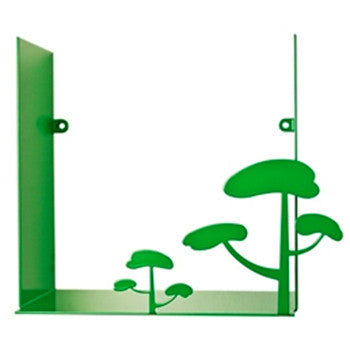 Pluto Produkter Tree Shelf Green