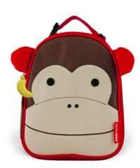 Zoo Lunchie Insulated Lunch Bag Monkey