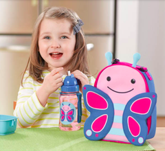 Zoo Lunchie Insulated Lunch Bag Butterfly