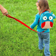 Zoo Safety Harness Mini Backpack with Rein Owl