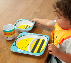 Zoo Tabletop Melamine Set Bee