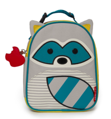 Zoo Lunchie Insulated Lunch Bag Raccoon