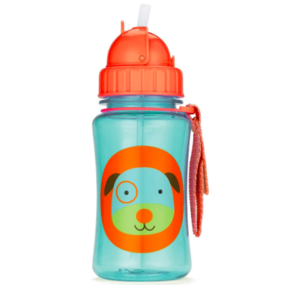 Zoo Straw Bottle Dog