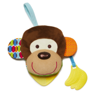 Bandana Buddies Baby Puppet Book Monkey