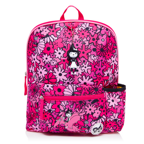 Kids Backpack 3+ Floral Pink
