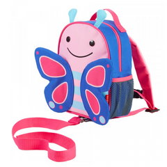 Zoo Safety Harness Mini Backpack with Rein Butterfly