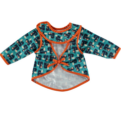 Pop-in Coverall Bib Squirrel (6-18months)