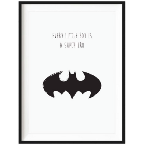 Superhero Print - Unframed