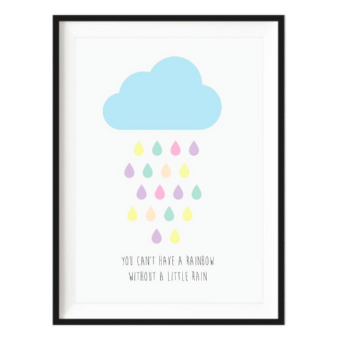 Rainbow Rain -  Unframed