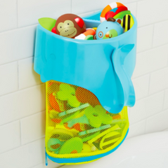 Moby Scoop & Splash Bath Toy Organiser