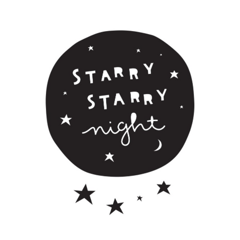 Wall Sticker Starry Night