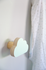 Cloud Wall Hook - Black