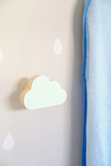 Cloud Wall Hook - Soft Mint